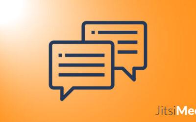 Wie der Jitsi-Meet-Chat funktioniert