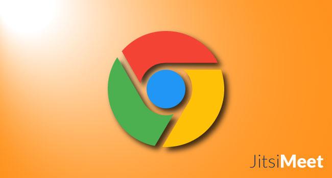 Probleme in Google Chrome mit Jitsi Meet