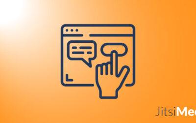 Wie sieht die Benutzeroberfläche von Jitsi Meet aus?