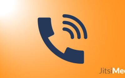 Wie man sich per Telefon mit einer Jitsi Meet-Konferenz verbindet