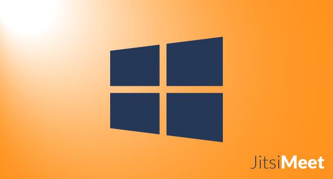 Jitsi Meet on Windows Wie man es benutzt?